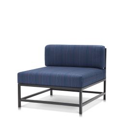 Armless Lounge Chair