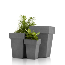 Concrete Planter (Square with Edge)